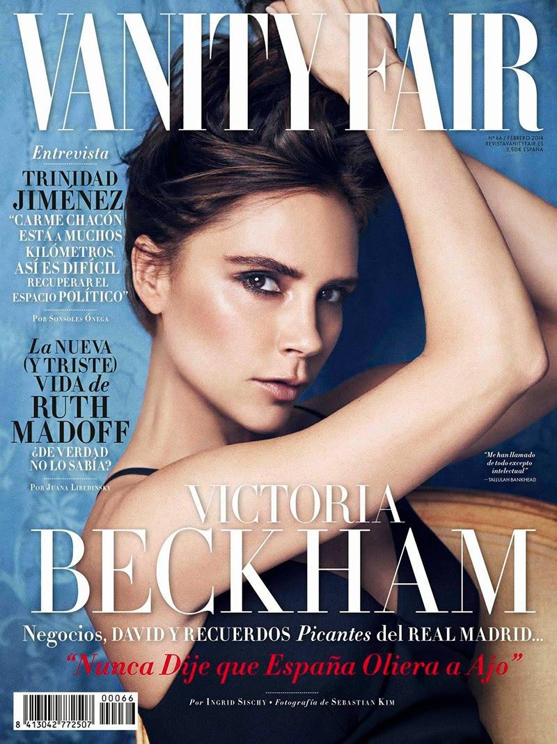 Magazine Photoshoot : Victoria Beckham Photoshot For Vanity Fair Magazine Spain February 2014 Issue