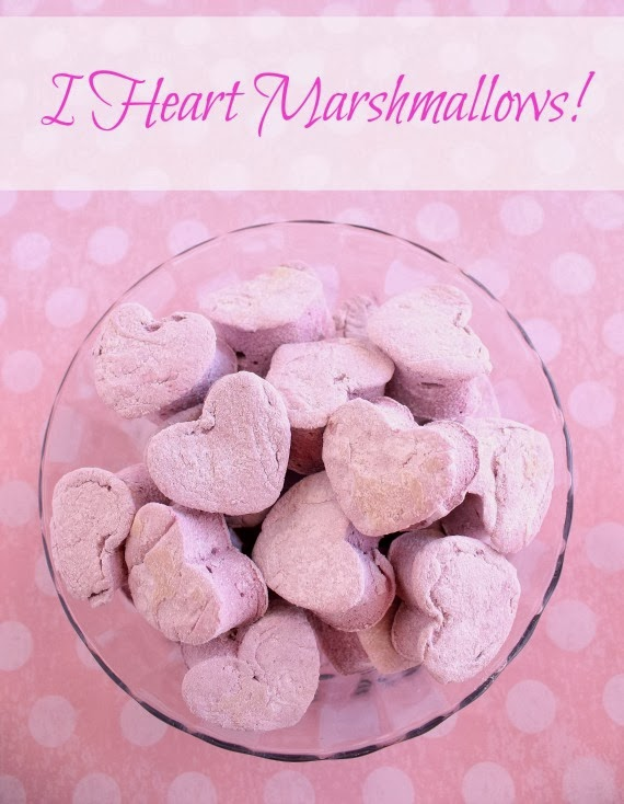 Kudos Kitchen By Renee - Homemade Heart Marshmallow Recipe