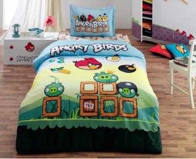 Angry Birds AB-05 Lisanslı Nevresim Takımı