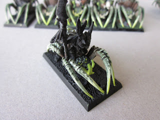 How to Paint Goblin Spider Riders step four