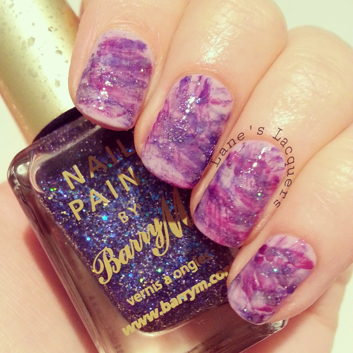 barry-m-purple-brush-stroke-nail-art (2)