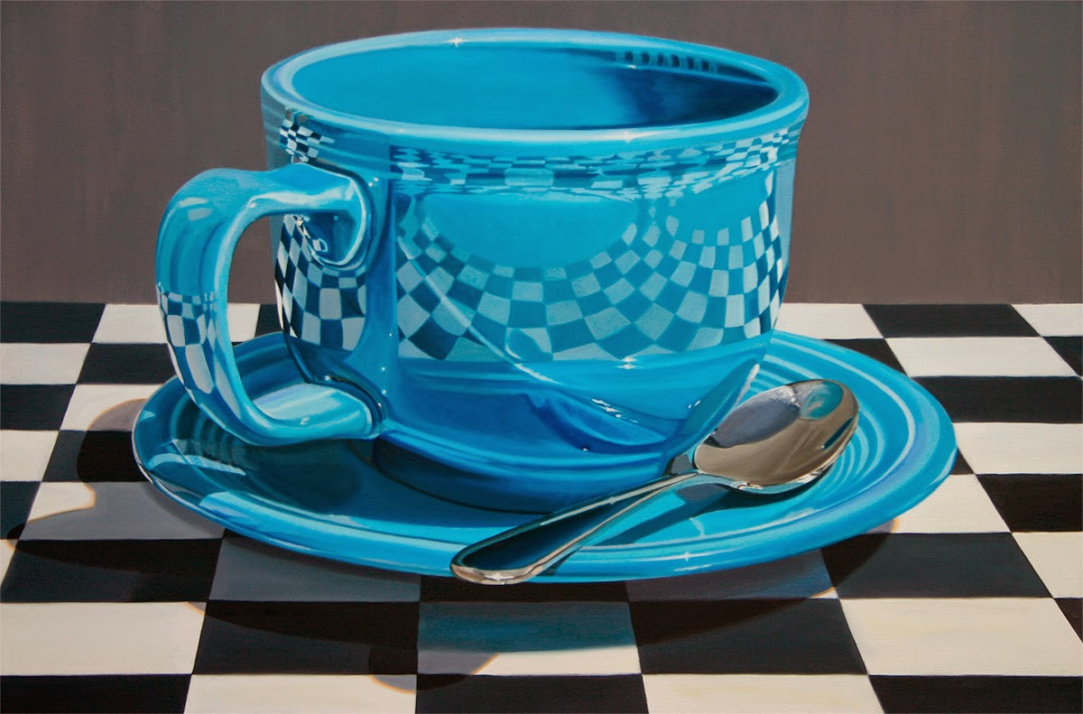 11-Out-of-the-Blue-Daryl-Gortner-Reflections-in-Art-Photo-Realistic-Paintings-www-designstack-co