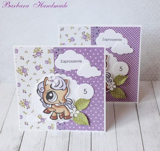 Barbara Handmade Amelkowe Zaproszenia Na Urodziny