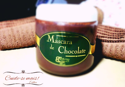máscara de chocolate