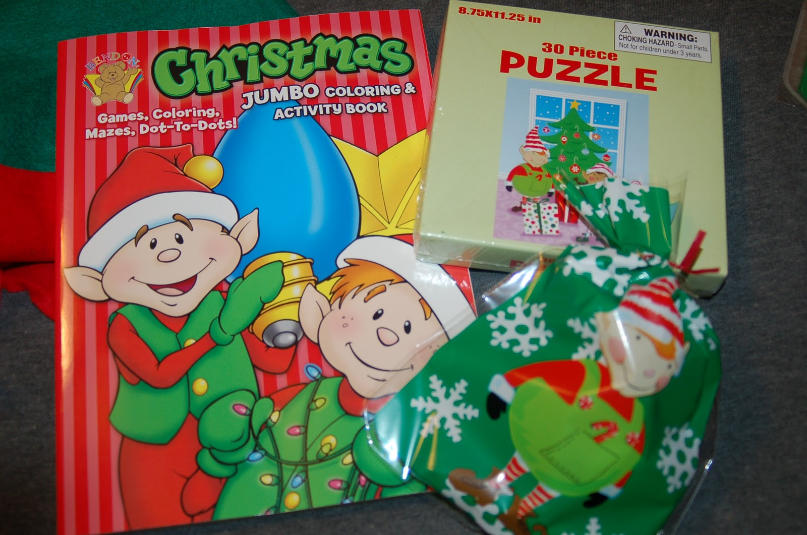 Look What Sam the Elf Brought us this Morning! - Surviving A ...