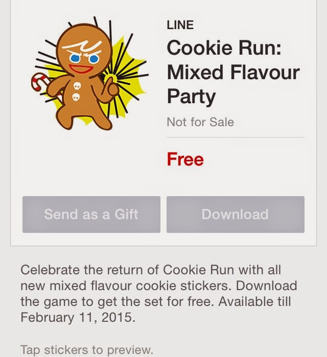 Cookie Run: Mixed Flavour Party sticker