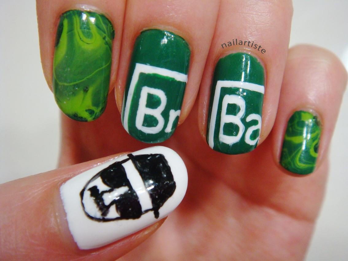 The Nail Artiste Nail Art Breaking Bad