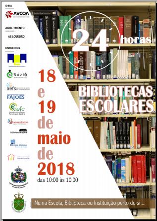 24 Horas das Bibliotecas Escolares