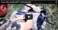 Horror video reveals MH17 crash aftermath, mh17, crash, aftermath, mh 17 crash