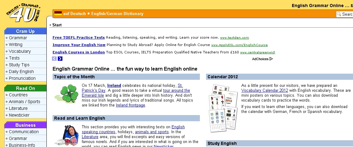 learn english writing online Practise reading and writing in english with texts and tasks.