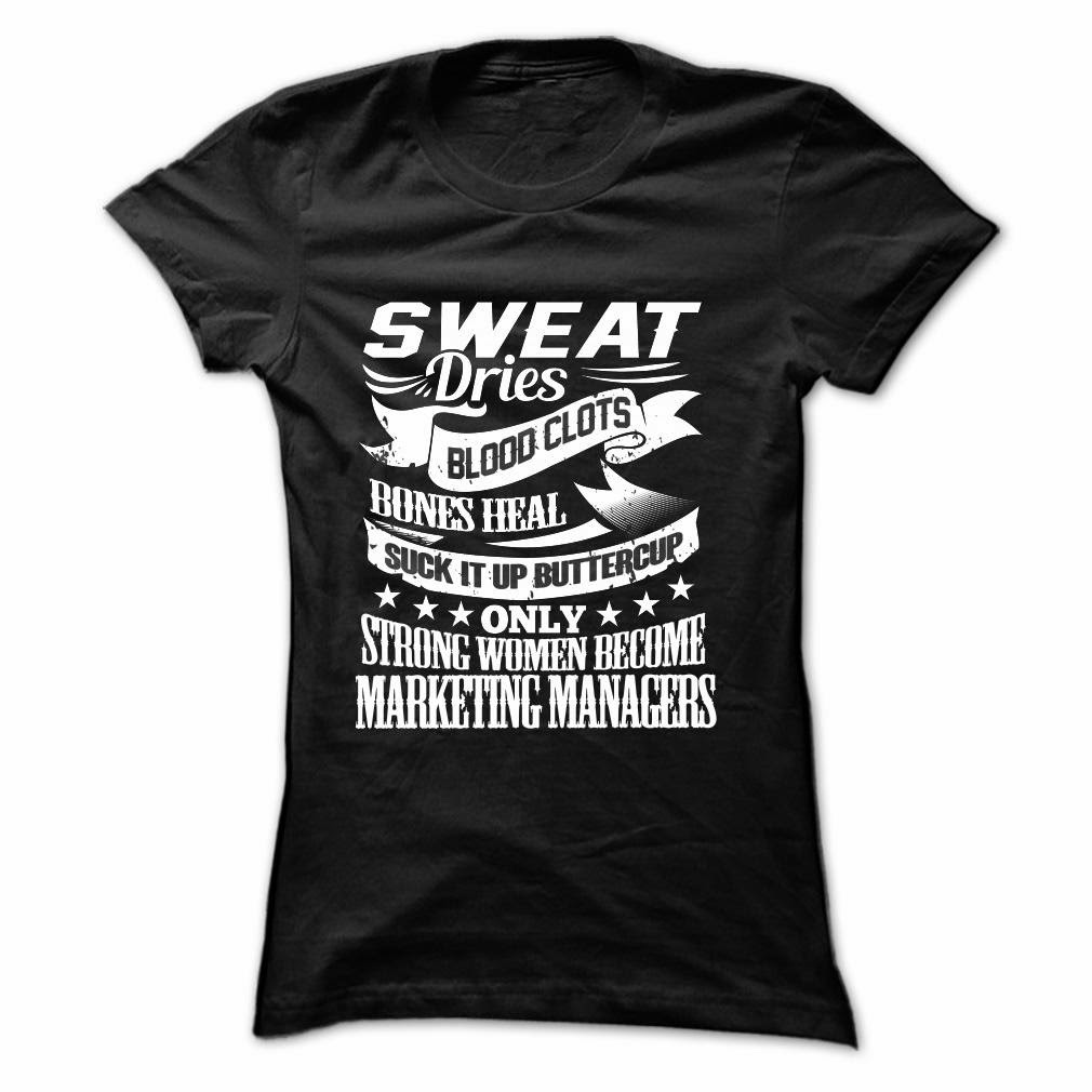 Strong Girl Become Marketing Managers T Shirt