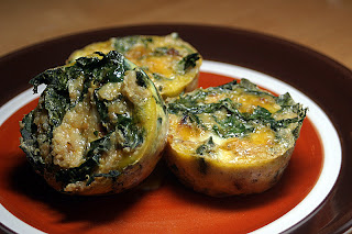 Veggie Converter: Quinoa and Kale Mini Quiches {Vegetarian}