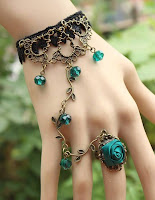 Bohemian Style Flower Cute Soul Luxurious Crytal Lovely Vintage Bracelet