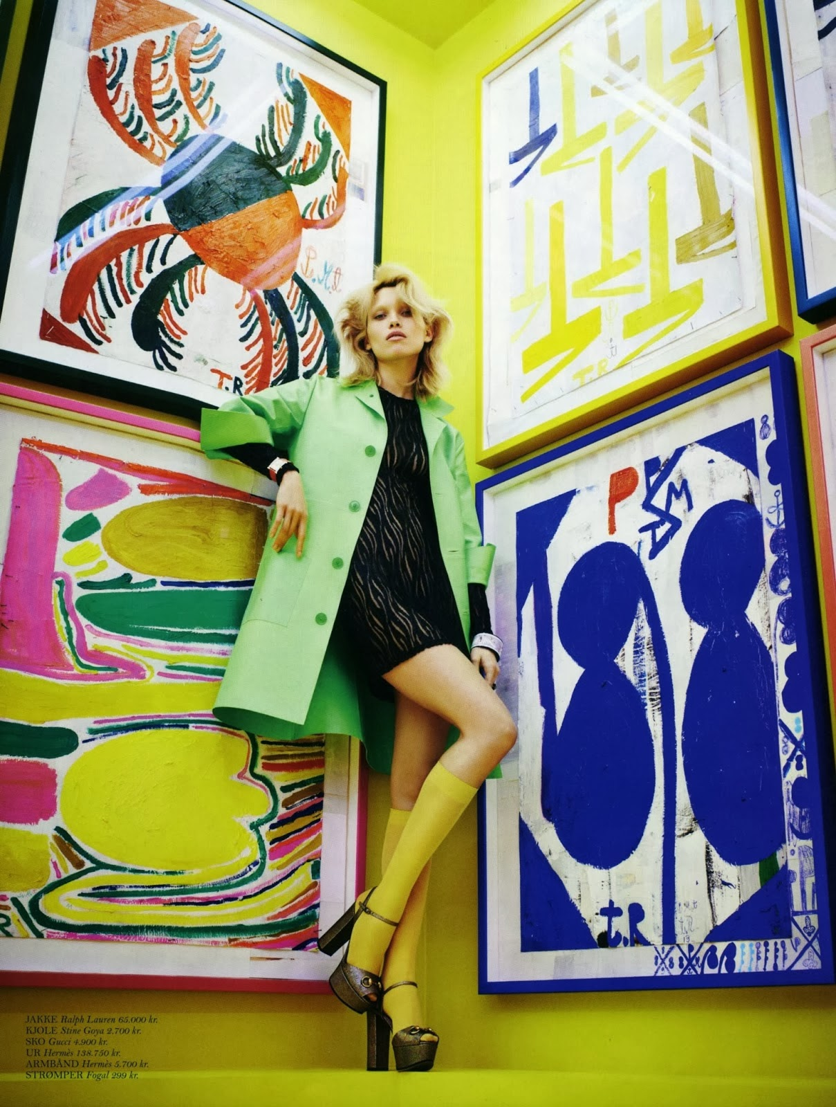 Hana Jirickova HQ Pictures Cover Magzine Photoshoot February 2014