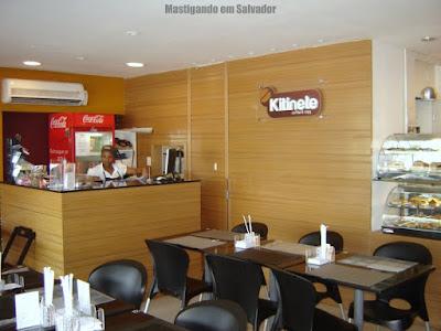 Kitinete Coffee & Copy: Ambiente interno