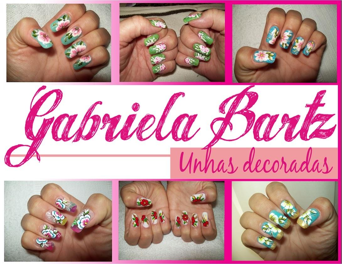 * Unhas Decoradas* Gabriela Bartz*