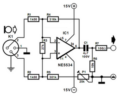 Schematic To Hook Up Audio Mixer also Dynamic Microphone  lifier Low Noise moreover Instrumentation  lifier Wiring Diagram in addition Bipol in addition 3 Pin Xlr Microphone Wiring Diagram. on microphone circuit