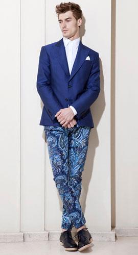 pantalones estampados hombre Zara