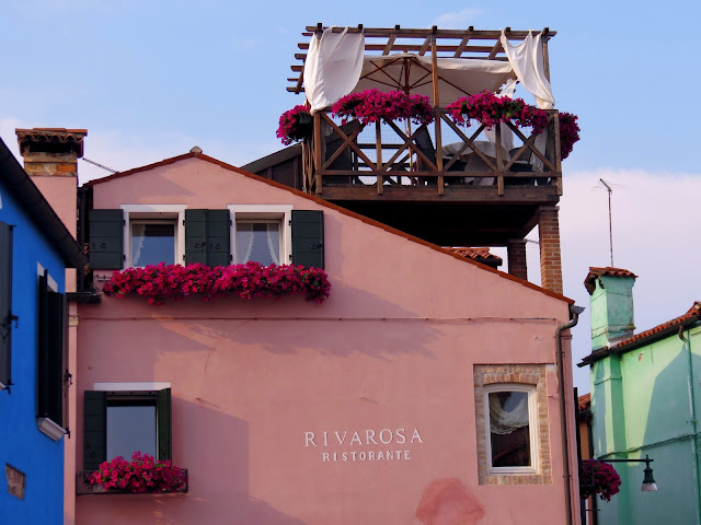 Burano colourful house