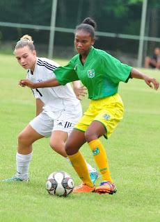 Este domingo en la fase final clásico entre selecciones femeninas de  Haití y República Dominicana