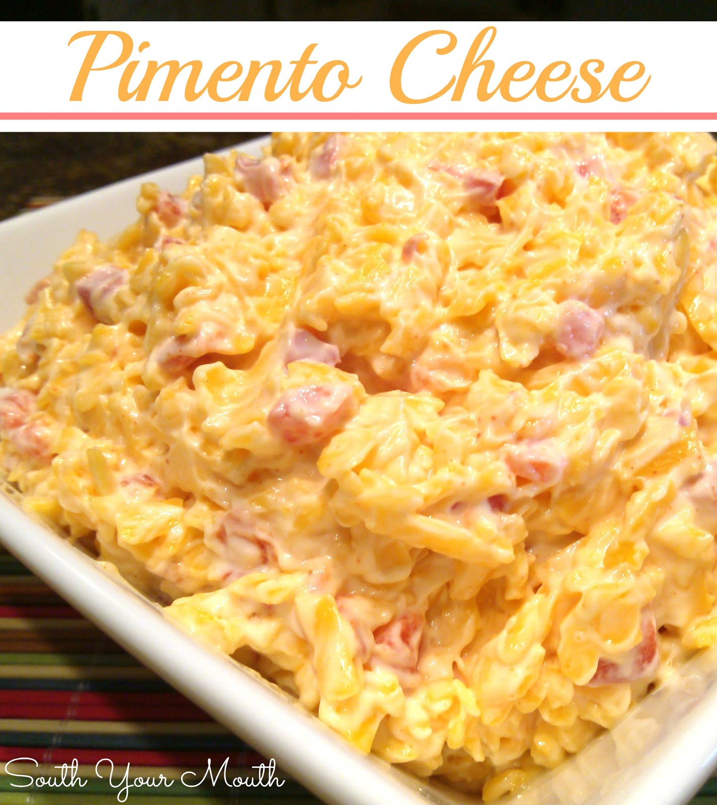 pimento cheese 1 pound cheddar cheese 1 4 ounce jar