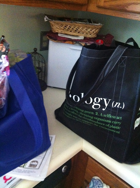own grocery bags
