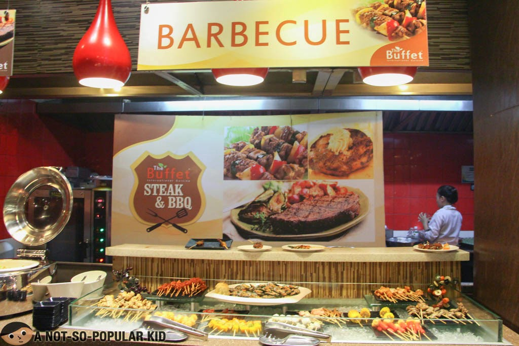 Steak and Barbecue Station of The Buffet International Cuisine