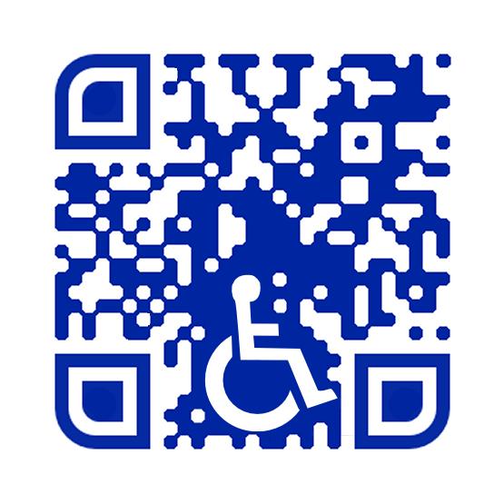 Handicapped QR Code