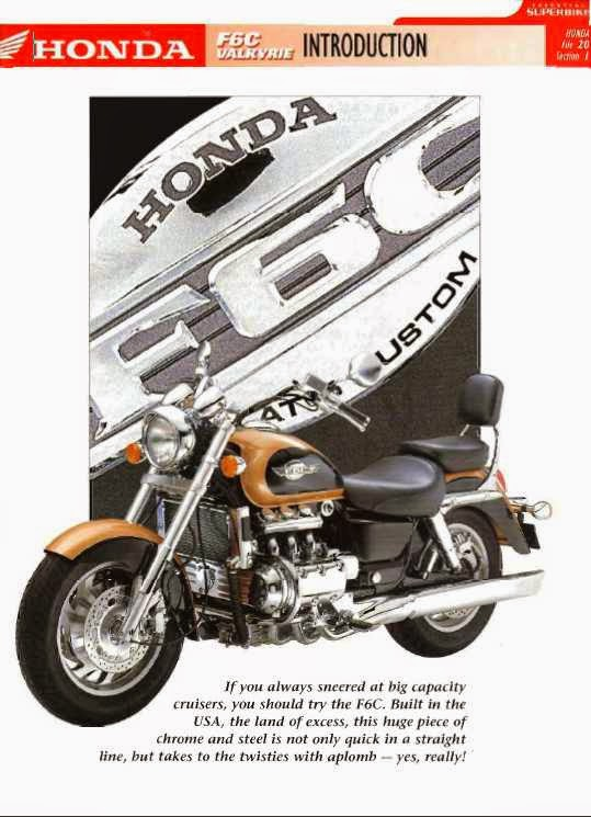 the honda valkyrie pages honda f6c valkyrie data file rh thehondavalkyriepages blogspot com 1997 honda valkyrie service manual pdf 1997 honda valkyrie service manual pdf