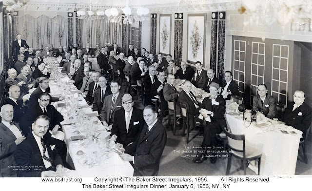 The 1956 BSI Dinner group photo