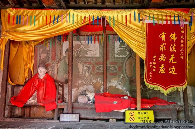 Shuanglin Temple china