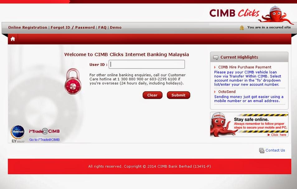 Cara Mudah Bayar Bil Menggunakan CIMB Clicks | Download