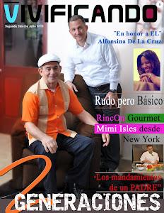 Portada de Julio Revista Vivificando