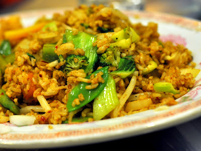 Nasi Goreng with Vegetables - Jenny's Kuali - Bethlehem, PA - Photo by Taste As You Go