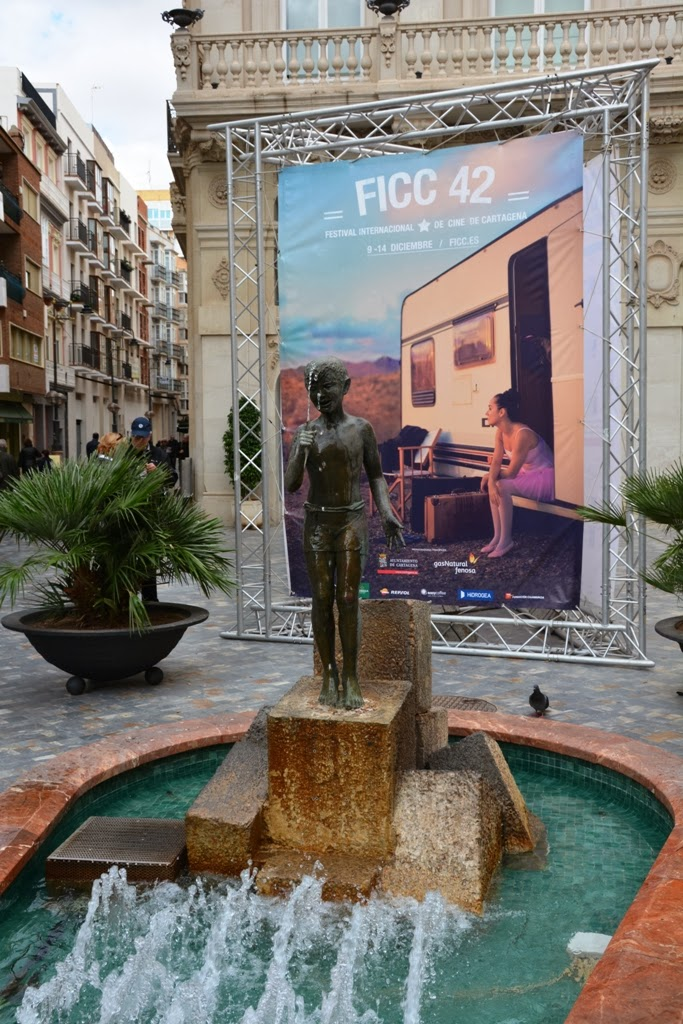 Cartagena Spain statue fountain Ficc 42