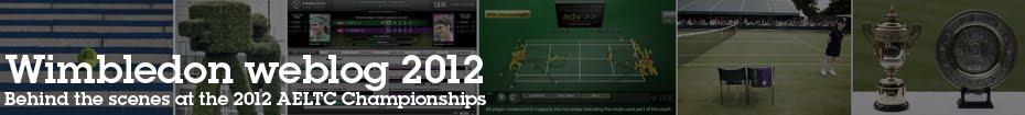Wimbledon weblog 2012