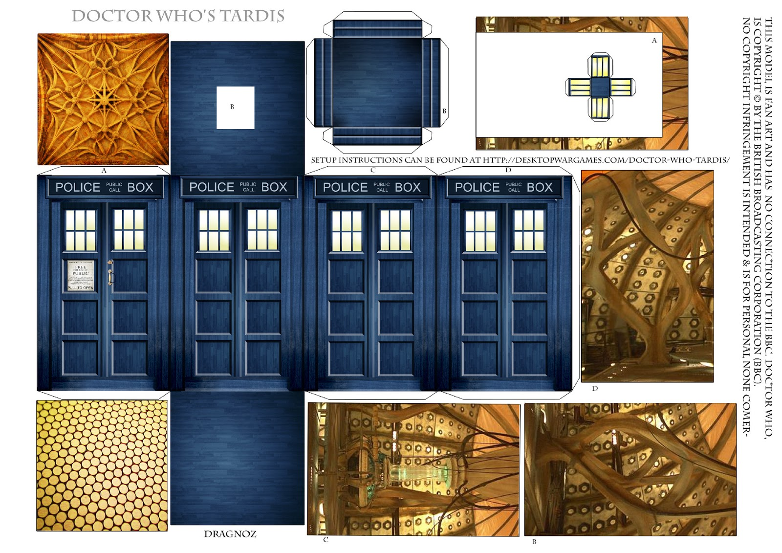 This is a graphic of Bewitching Doctor Who Paper