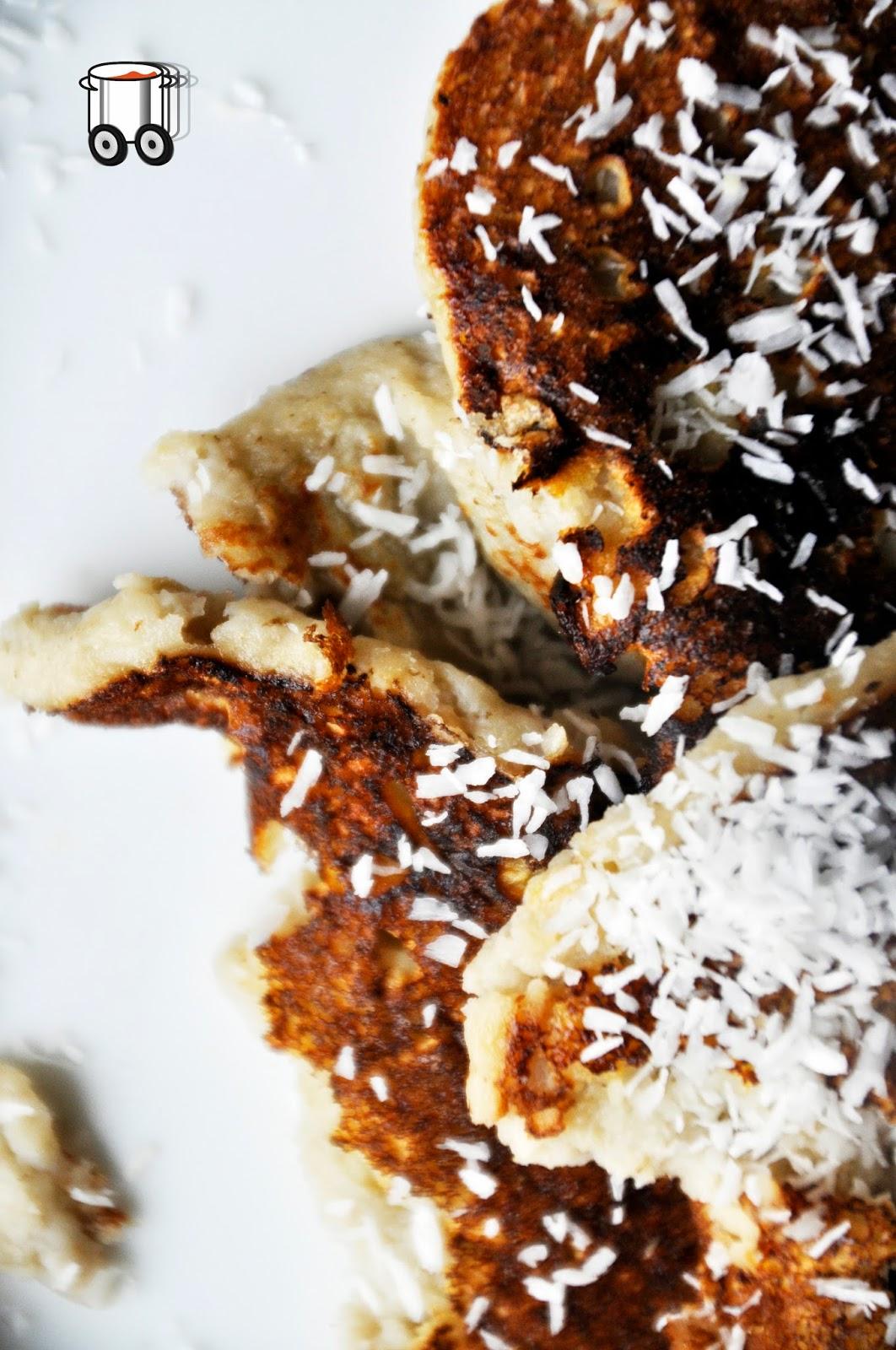 Szybko Tanio Smacznie - Beztłuszczowe placuszki bananowo-kokosowe