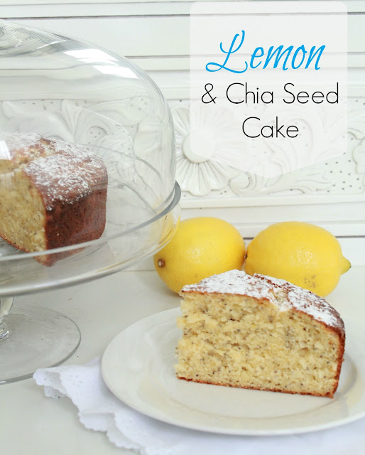... Lemon and Chia Seed Cake recipe; its easy and very, very delicious