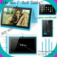 Just in Time for Christmas Tablet #Giveaway
