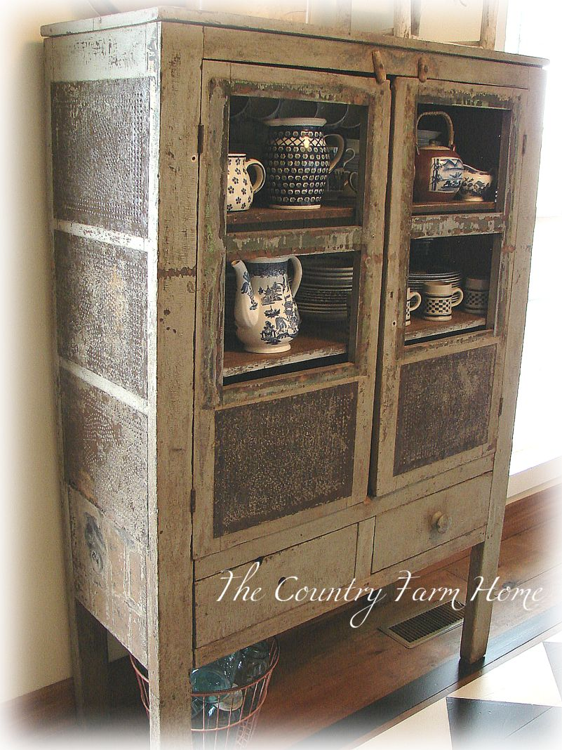 The Country Farm Home The Pie Safe Blues