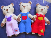 My Web Shop - Bear Softies
