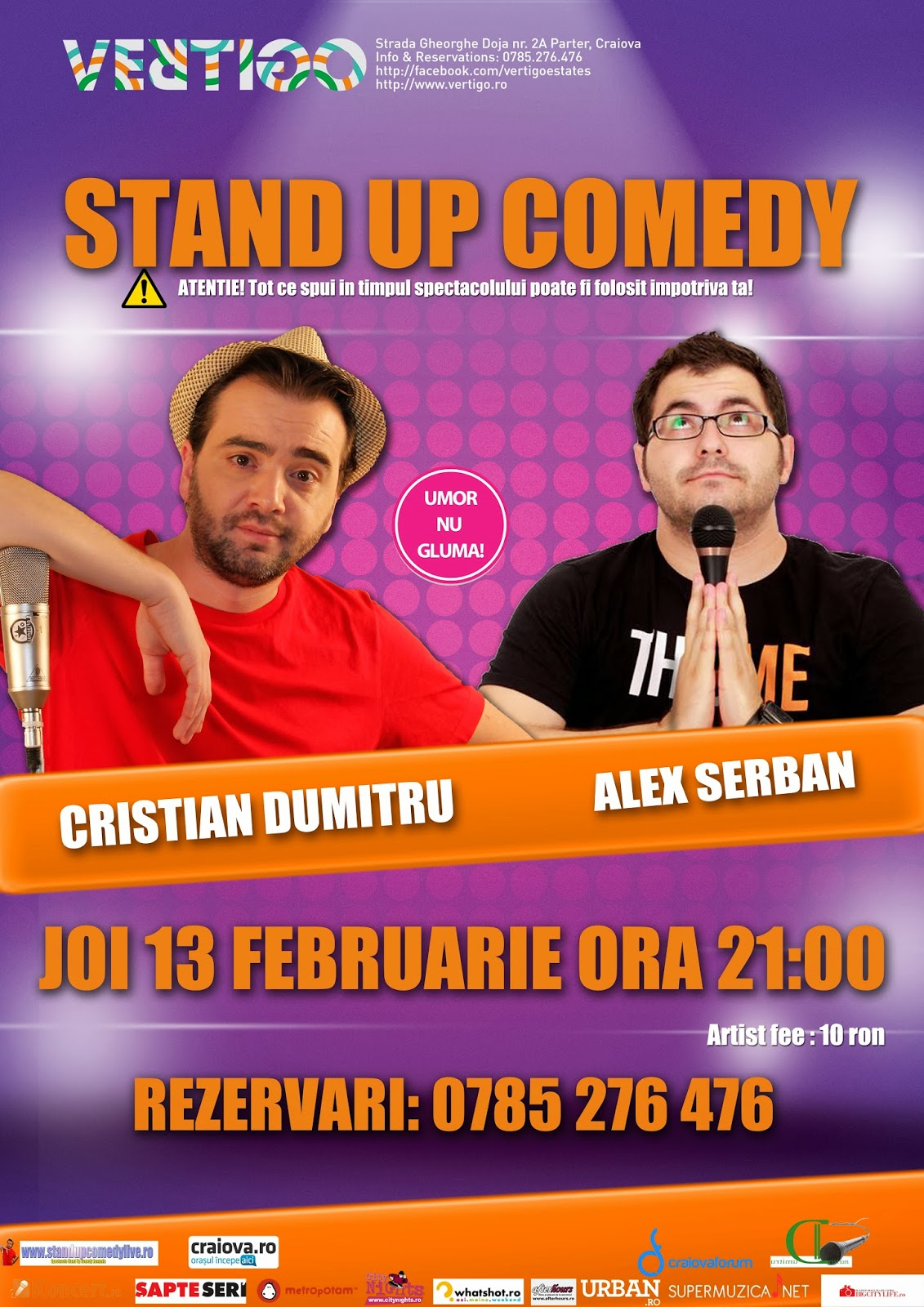 stand up comedy craiova romania