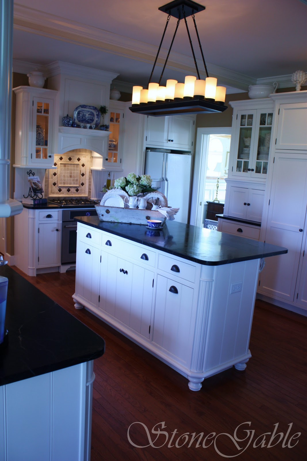 STONEGABLE\'S FARMHOUSE KITCHEN REVEAL - StoneGable