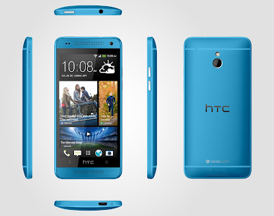 Blue HTC One Mini