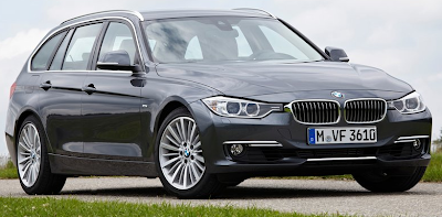 2013 BMW 3-Series Wagon grey