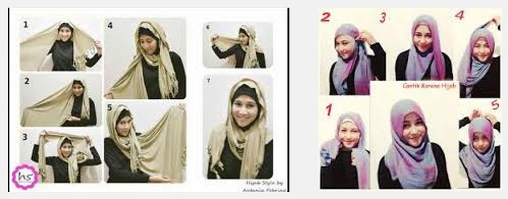 Model Jilbab Untuk Wajah Bulat Dan Pipi Tembem   hairstylegalleries ...