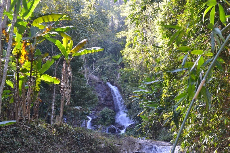 Thailande, Treck, cascade, water fall