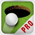 Golf Putt Pro Icon Logo