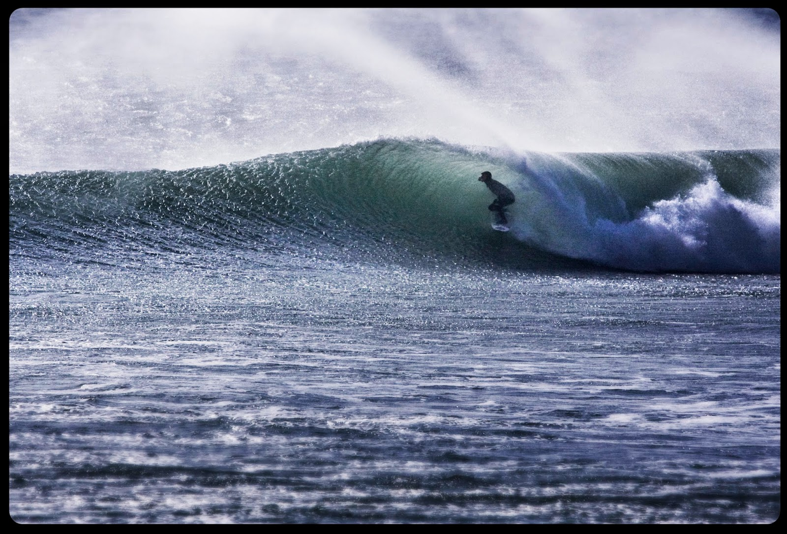 Surfing, Barrel, Porthleven, Cornwall